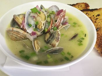 Welcome to Emerald Bay Bar & Grill, Clams Special Fridays